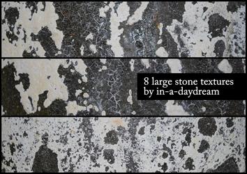Stone Textures by in-a-daydream