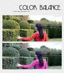 color balance by leals