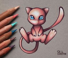 Mew by BluHiroo