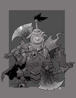 Orc Chieftain by cwalton73