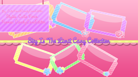 Sky Is The Limit Candy Frame Packs by CandyCaneEditor