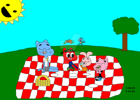 Contest Request: Family Picnic by Toaoflight3690