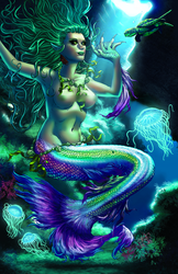 THE SIREN, from THE CURSE OF RAGDOLL Kickstarter by MikeWolfer