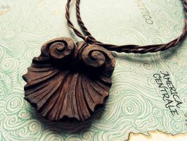 SHELL PENDANT by MassoGeppetto
