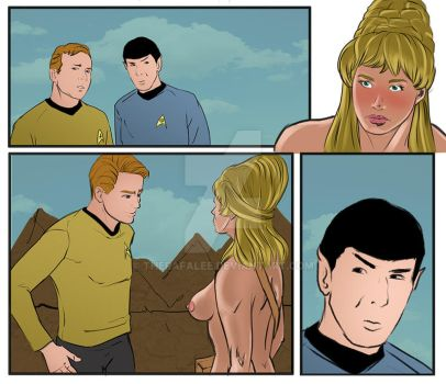 Star trek 2 color Patreon preview by TheRafaLee