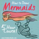 How to draw Mermaids by ToonBoxStudio