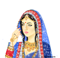 Rajput Princess by Madhuchhanda