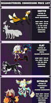 Commission Prices-2018 by SEGAmastergirl