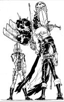 A CAPTAIN HARLOCK commission by Dogsupreme