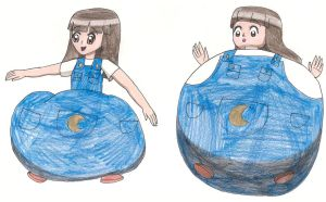 Request for grantjoey45 Sera's inflation overalls by Magic-Kristina-KW