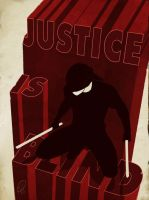Justice is blind by deralbi