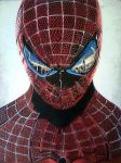 2014 Drawing - Spiderman :) by nielopena
