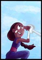CONNIE SPEED DRAWING +VIDEO by IDROIDMONKEY