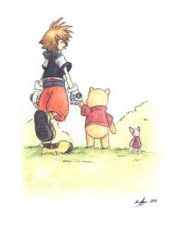 Pooh's cover by eikomakimachi