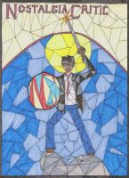 Nostalgia Critic Stained Glass by Joygon