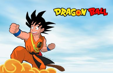 Dragon Ball-print by Salvador-Raga