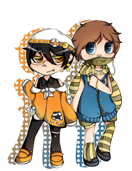 Zack and Frei by Veynn