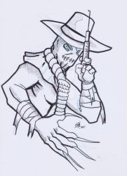 Walker (Ink) - Scarecrow by powerbomb1411