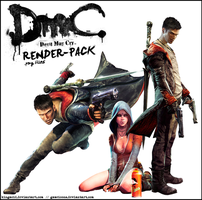 DmC Devil May Cry - RENDER Pack by Crussong