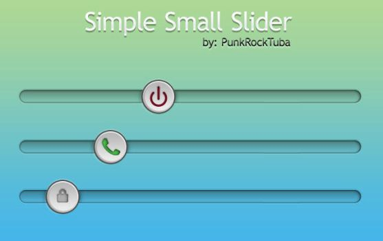 Simple Small Slider SD-HD by PunkRockTuba