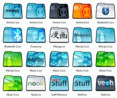 Folder Icons ICO PNG by EchoingDroplet
