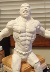The Hulk Custom sculpt by queenelf