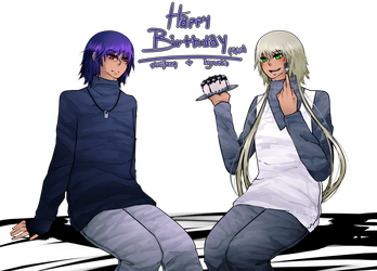 Happy Birthday, Ignatio and Muyeong! by ace-rbus