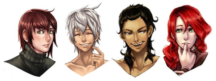 Our First Four Boys by ougaming