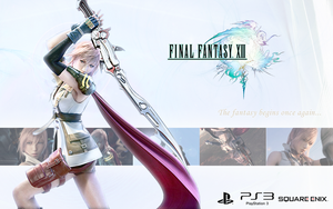 Final Fantasy XIII PS3 by CrossDominatriX5