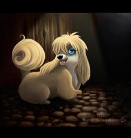 Peg from Lady and the Tramp by Tsuchan
