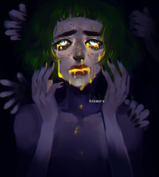 all the light escaped from my body and mind by lilanero