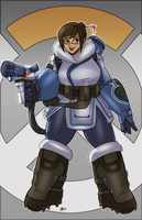 Mei- Overwatch by shadowblackfox