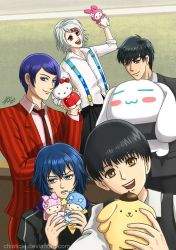 TG: Sanrio Ghouls by Chiaticle
