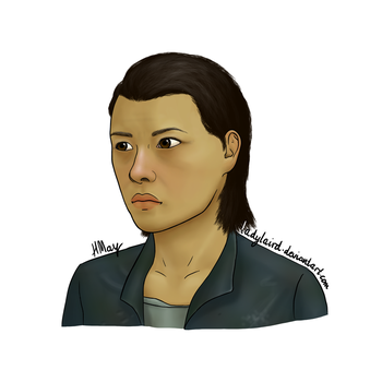 The Last of Us racebend - Maria by LadyLaird