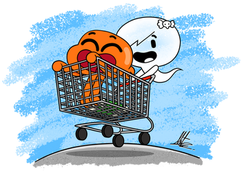 Shopping Cart by RadiumIven