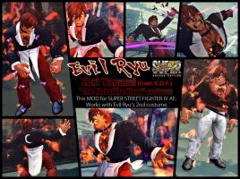 SSF4AE Evil Ryu - Iori 'The Riot of the Blood' MOD by dsFOREST