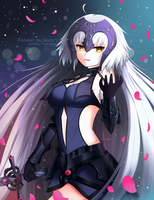 Jeanne Alter (FGO) by RiadiTY