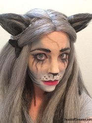 Grizabella Wig With Makeup by theassassinnox