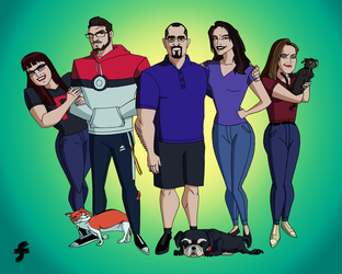 The Strecker Family | COMMISSION by JTSEntertainment