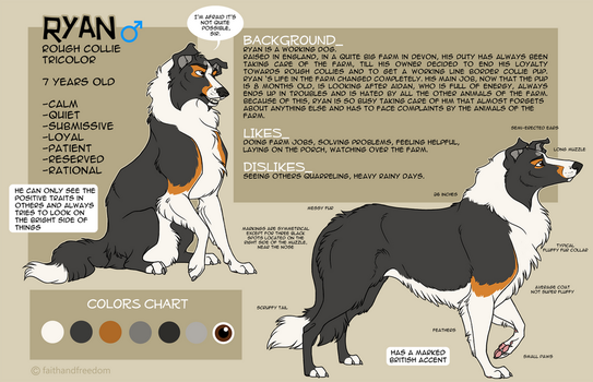 Ryan Character Sheet 2014 by faithandfreedom