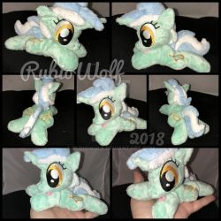 MLP 6 inch mini Lyra Heartstrings .:Commission:. by RubioWolf