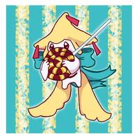 Sweetie pie shy Jirachi by Teepy-teep