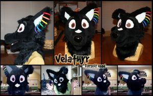 Vel Fursuit Head by Konsumer