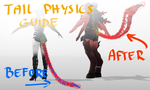 MMD Tutorial - Lifted-up Tail Physics Guide by Puroistna