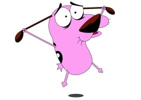 courage the cowardly dog by brigz7071