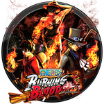 One Piece - Burning Blood Icon v2 by andonovmarko
