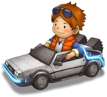 Delorean Kart by Ry-Spirit