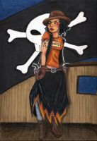 Western Pirate Girl by Shpout