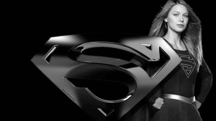 Supergirl and Icon Wallpaper 4 by Curtdawg53