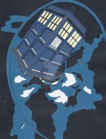 A Finished Tardis by wandering-pen